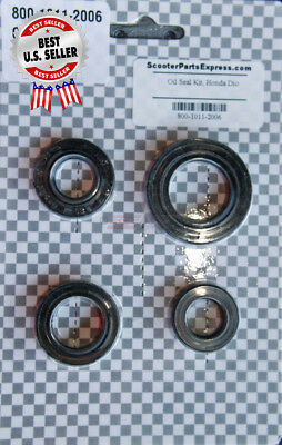 Oil Seal Kit Honda DIO Honda Elite Honda Spree Daelim 2 Stroke ~ US Seller