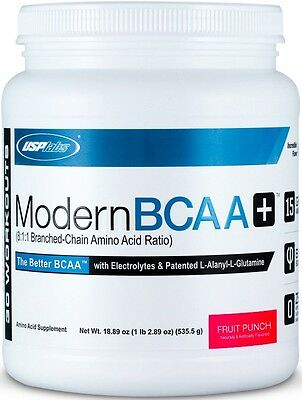 USP labs Modern BCAA+, 535.5g, 30 Servings, 8:1:1, All Flavours
