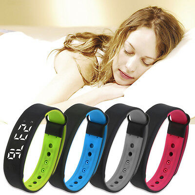 All Day 3D Smart Wrist Watch Bracelet Pedometer Calorie Counter Sport Tracker Y#