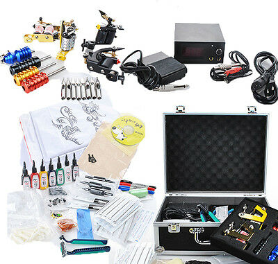 4 MaschineTätowierungset Kit Tattoomaschine Tattoomaschine Tattoo Kit Anfänger