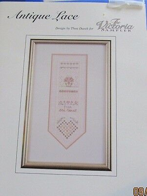 Antique Lace  design by Thea Dueck for The Victoria Sampler