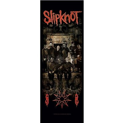 Slipknot Crest Door Poster Flag Fabric Official Textile Wall Banner New