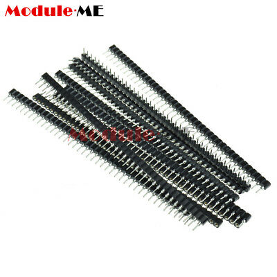 10Pcs Strip Tin PCB Female IC Breakable 40pin Single Row Round Header Socket MO