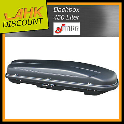 JUNIOR Dachbox Xtreme 450 schwarz, matt 450 Liter