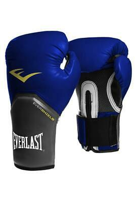 Everlast Elite Pro Style Training Boxhandschuhe - blau 8 10 12 14 16 oz Ergo