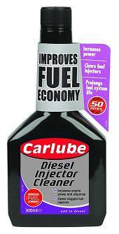 CARLUBE DIESEL INJECTOR CLEANER 300ml Fuel System Cleaner ( Save Fuel & Money )