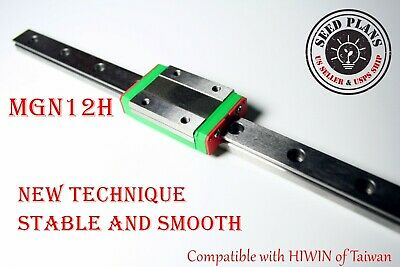 MGN12H Linear Sliding Guide / Block 250 300 350 400 450 500 550mm CNC 3D Printer