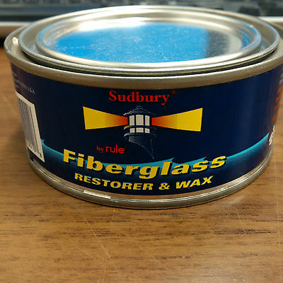 Fibreglass Restorer and Wax by Rule