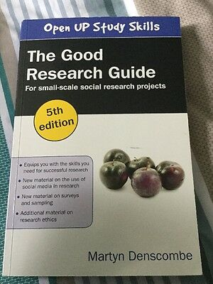 Good research projects