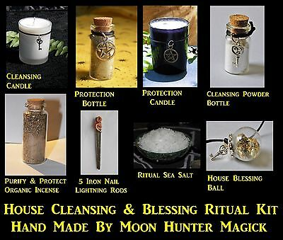 House Cleansing & Blessing Deluxe Ritual Kit Spell Kit Ritual Pagan Wicca