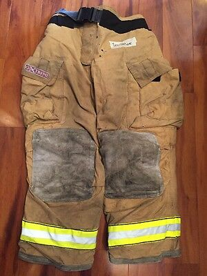 Firefighter Turnout Bunker Pants Globe 36x30 G Extreme Halloween Costume