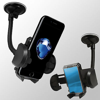 Universal Windscreen 360 In car Holder Mount Cradle For iPhone Mobile Phones