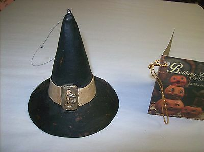 """Bethany Lowe """"Witches Brew Witch Hat Ornament"""" (TD4037)"""