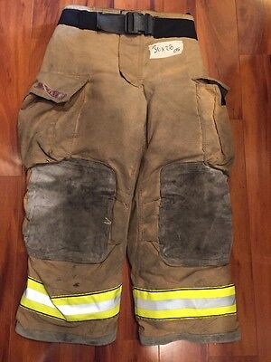 Firefighter Turnout Bunker Pants Globe 36x28 G Extreme Halloween Costume