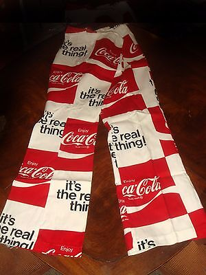 1972 Coca Cola Bellbottom Beach Pants 38/40 W - Brand New In Original Packaging