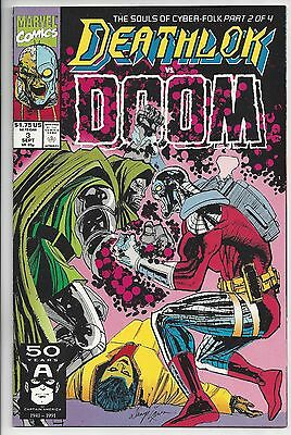 Marvel Comics DEATHLOK #3 September 1991 Doctor Doom