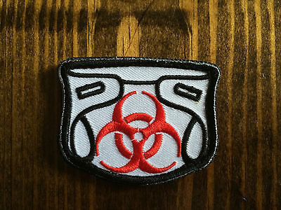 Toxic Dirty Diaper Patch- Tactical Diaper Patch