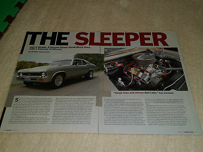 1971 CHEVROLET NOVA #7 article / ad