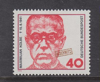 West Germany Mnh Stamp Deutsche Bundespost 1973 Maximilian Kolbe Sg 1664