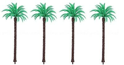 "Miniature Dollhouse Fairy Garden Set of 4, 5"" Coconut Palm Trees - Buy 3 Save $5"