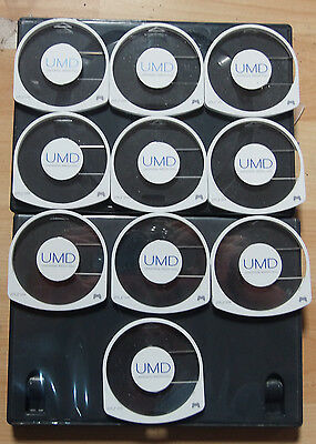 10 x Replacement UMD Game Disc Case Shell for Original White Sony PSP