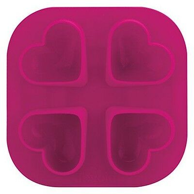 Tovolo Heart Ice Molds, Pink