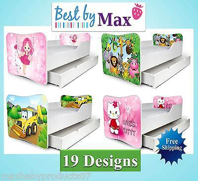 !!! TODDLER / CHILDREN BED INCLUDING STORAGE + FREE MATTRESS.(BOYS and Girls)