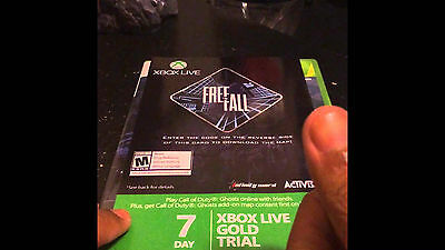 Xbox Live Gold 168hr 7 Day Trial Membership - EMAILED TO YOU SAME DAY!! - X BOX