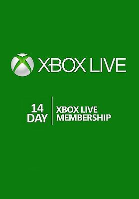Xbox Live Gold 336hr 14 Day Trial Membership - EMAILED TO YOU SAME DAY! - X BOX