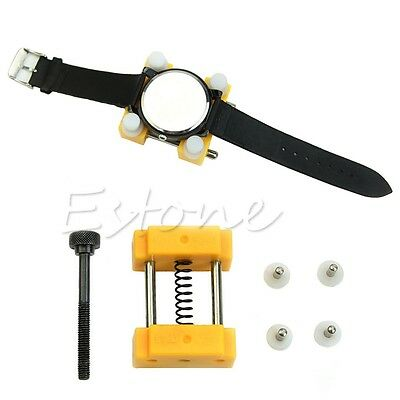 Watch Back Case Adjustable Cover Remover Opener Holder Watchmaker Repair Tool