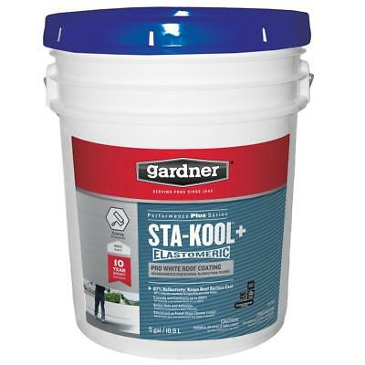 5-Gal. Pail Sta-Kool 780 Siliconized Acrylic, White Elastomeric Roof Coating