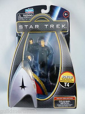 Playmates ORIGINAL SPOCK 2009 STAR TREK MOVIE Galaxy Collection SPOCK PRIME W/T4