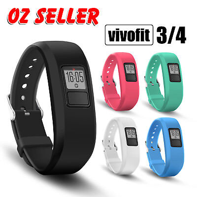 Replacement Band for GARMIN VIVOFIT Fit 3 4 ALL COLOURS IN STOCK! AUSSIE SELLER