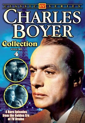Charles Boyer Collection: Volume 4 NEW DVD