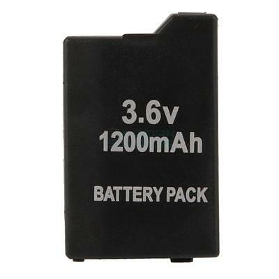New 3.6V 1200mAh Replacement Battery Pack for Sony PSP 2000 3000 Black IT