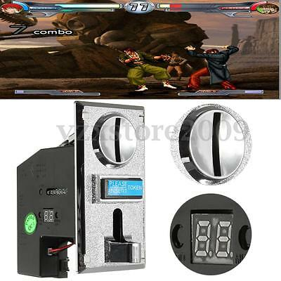 Multi Coin Slot Selector Acceptor For Arcade Gaming Machine CPU Process Control