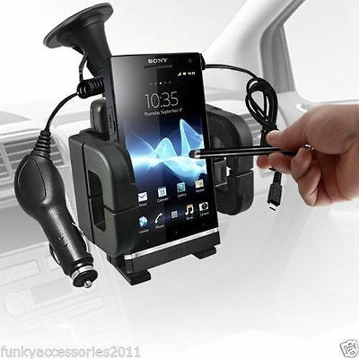 Windscreen Mount Phone Holder In Car Kit Cradle & Charger - Apple iPhone 7 Plus