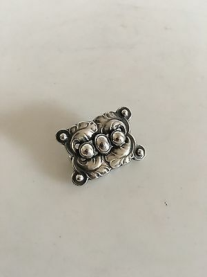 Georg Jensen Sterling Silver Brooch No 215