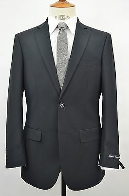 Men's Black 2 Button Slim Fit Suit SIZE 48S NEW
