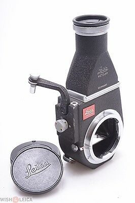 Leica M Visoflex Iii W/ Chimney Finder 'Otvxo' Perfect For M240,mp Macro & Tele