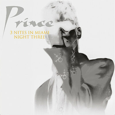 PRINCE - 3 Nites In Miami: NIGHT THREE, 9th June 1994. New LP + Sealed **NEW**