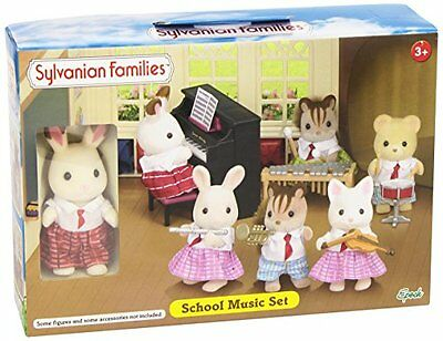 sylvanian rabbit and piano  u2022  u00a33 00 picclick uk Cosy Cottage Style cosy cottage furniture set sylvanian families