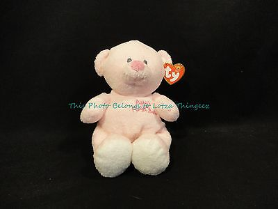 NWT RARE Pink Ty Baby Baby's First Bear 2007 Retired VHTF Love to Baby PERFECT
