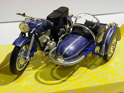 BMW R69S GERMAN MOTORCYCLE motorbike DIE CAST METAL 1/18 MINIATURE COLLECTIBLE