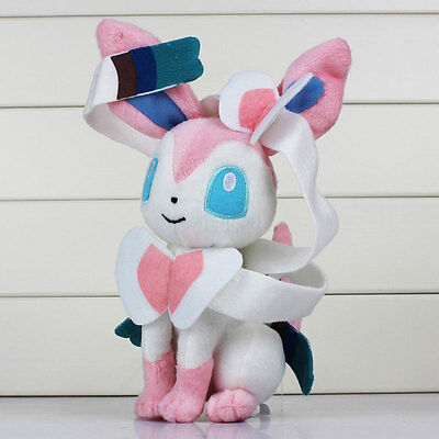 1Pcs Pokemon Sylveon Shape Soft Stuffed Plush Doll Gifts Home For Kid Children