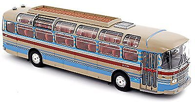 Saviem S53M Bus excursion 1970 creme 1:43 Norev