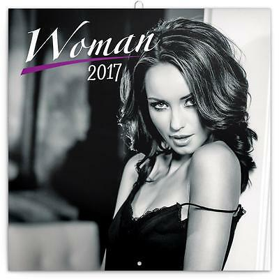 Woman In Lingerie Black And White 2017 Uk Square Wall Calendar New And Sealed