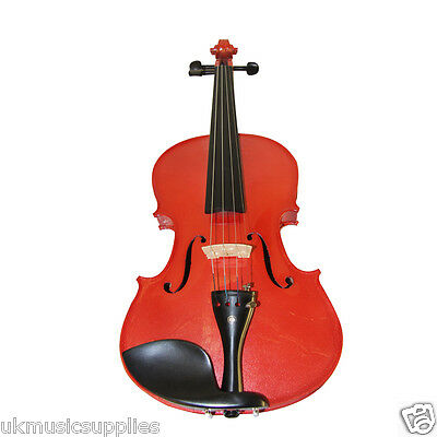 Zest full size Metallic Coloured Acoustic Violin ONLY VERY CHEAP