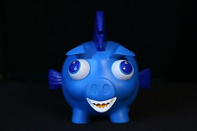 Old Navy 2013 Blue Shark Piggy Bank