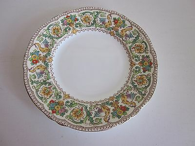 """Crown Staffordshire Ellesmere Salad Plate made in England 8"""""""